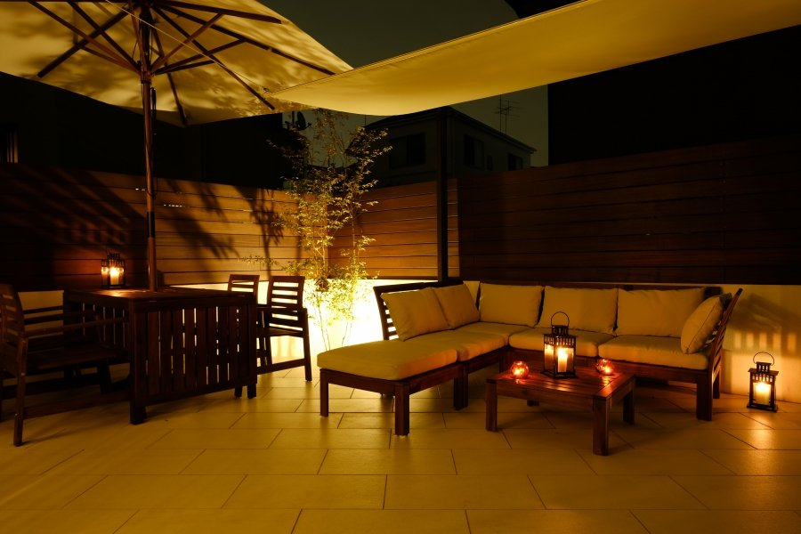 Asian Resort Night<br />at Private Terrace